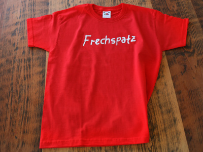 T-Shirt Kids Frechspatz